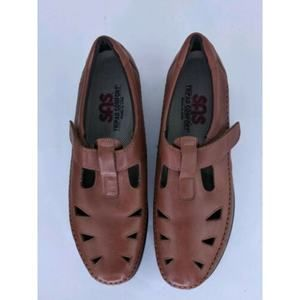 SAS Size 9S Tripad Comfort Mary Jane Leather